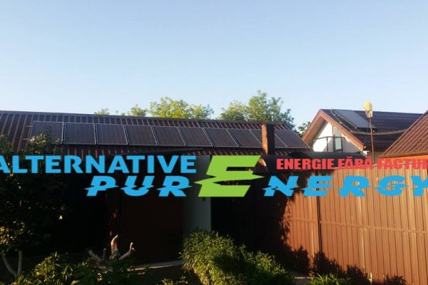 Sistem Fotovoltaic – Locuinta Rezidentiala