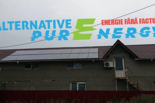 Sistem Fotovoltaic Trifazic – Hala Productie